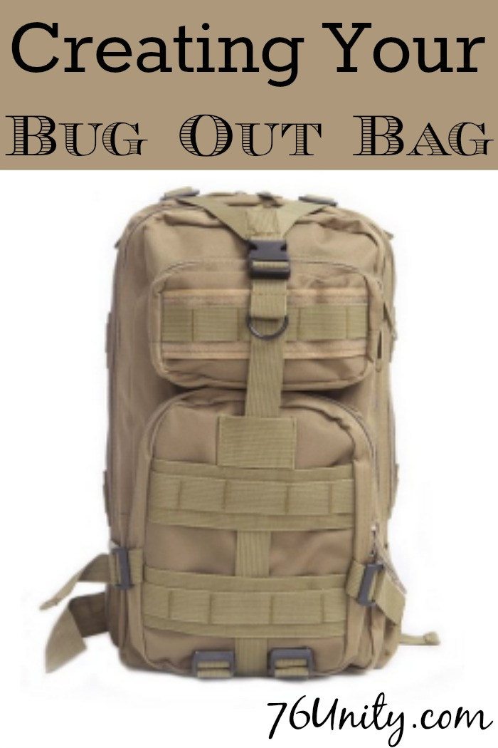 Creating Your Bug Out Bag