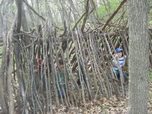 Debris Hut Deadfall Tent